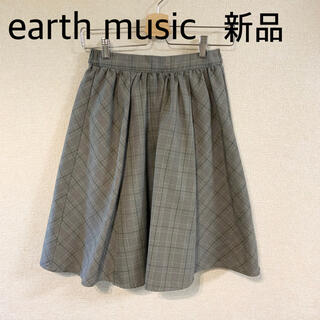 earth music & ecology - 美品✰earth music&ecology✰アース✰チェックスカート✰