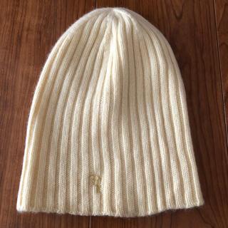 ロンハーマン(Ron Herman)のロンハーマン  レディース  ニット帽 イエロー(ニット帽/ビーニー)