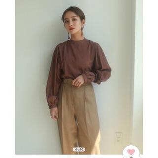 TODAYFUL - gather sleeve blouse