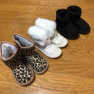 コムサイズム(COMME CA ISM)の子供用ブーツ 3足セット 15cm.16cm(ブーツ)