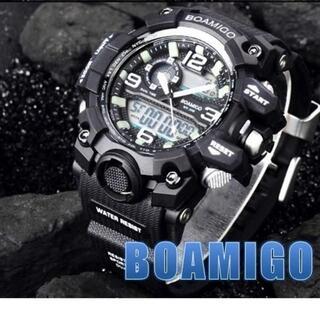 ■2020新品!■ ダイバーズウォッチ 黒ベゼル メンズ レディース 腕時計(腕時計(デジタル))