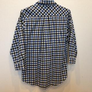 ブラウニー(BROWNY)のチェックシャツ青と赤(シャツ/ブラウス(長袖/七分))