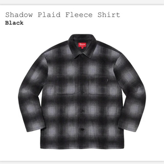 Supreme - 新品Mサイズ Supreme Shadow Plaid Fleece shirt
