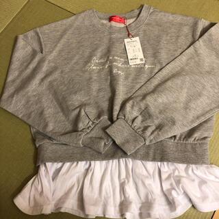 レピピアルマリオ(repipi armario)のレピピアルマリオ  裾フリル  トレーナー(Tシャツ/カットソー)