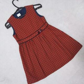 familiar - 【中古】 ファミリア ジャンパースカート