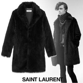 Saint Laurent - 定価42万 18AW サンローランパリ ファーコート