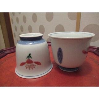タチキチ(たち吉)の橘吉 お茶呑 茶碗 茶器 5客セット 急須付き(食器)