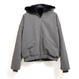 FEAR OF GOD - Fear of god 5th fifth FAUX RABBIT HOODIE