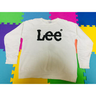 リー(Lee)の【本日限り】LEE 白スウェット ビッグロゴ リー(スウェット)