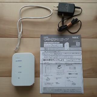 エヌイーシー(NEC)のNEC Aterm WR8165N 無線LAN アクセスポイント WiFi中継器(PC周辺機器)
