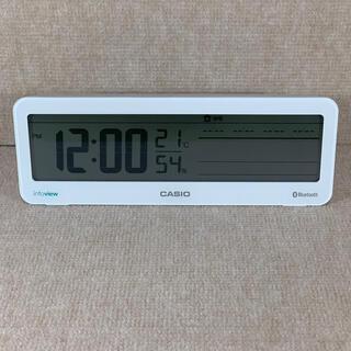 カシオ(CASIO)のデジタル 置き時計 (置時計)