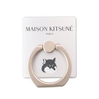 メゾンキツネ(MAISON KITSUNE')のIRING FOX HEAD バンカーリング スマホスタンド 人気商品(その他)