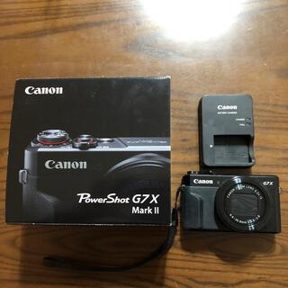 Canon - 美品 Canon G7X markⅡ Black