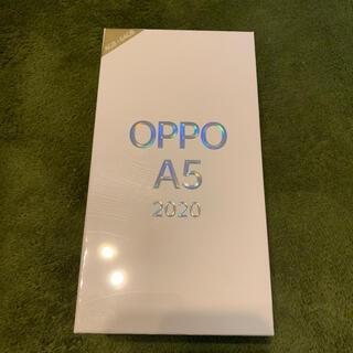 ラクテン(Rakuten)のoppo a5 2020 simフリー 購入証明書付き(スマートフォン本体)