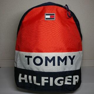 トミーヒルフィガー(TOMMY HILFIGER)のトミーヒルフィガー オレンジ リュック バックパック TOMMYHILFIGER(リュック/バックパック)