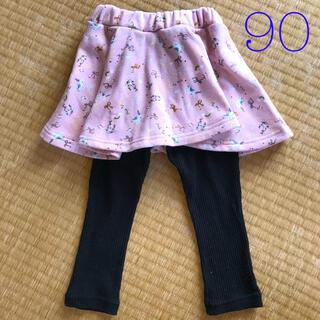 西松屋 - レギンス付きスカート 90