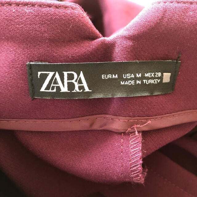 ZARA(ザラ)のZARA  ハイウエストパンツ  レディースのパンツ(カジュアルパンツ)の商品写真