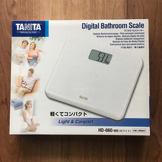 タニタ(TANITA)のタニタ 体重計 HD-660(体重計/体脂肪計)