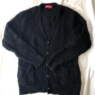 シュプリーム(Supreme)のSupreme Cable Knit Cardigan(カーディガン)