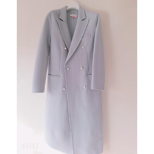 MADISONBLUE(マディソンブルー)のマディソンブルー パールチェスターコート レディースのジャケット/アウター(チェスターコート)の商品写真