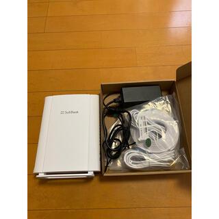 ソフトバンク(Softbank)のWi-Fiルーター(SoftBank)(PC周辺機器)