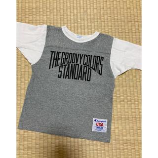 グルービーカラーズ(Groovy Colors)のchampion×グルービーカラーズコラボ ロンT(Tシャツ/カットソー)