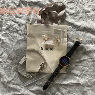 ジュエティ(jouetie)の【新品未使用】Jouete福袋 腕時計  イヤリング ネック ジュエッテ(その他)