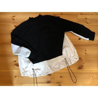 サカイ(sacai)のサカイ  デザイン似 ニット×シャツ(ニット/セーター)