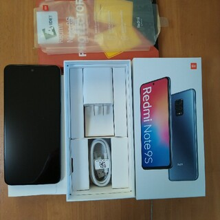 ANDROID - Xiaomi Redmi Note9S 4+64GB ホワイト