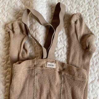 キャラメルベビー&チャイルド(Caramel baby&child )のmile マイル ブレース付き タイツ(靴下/タイツ)