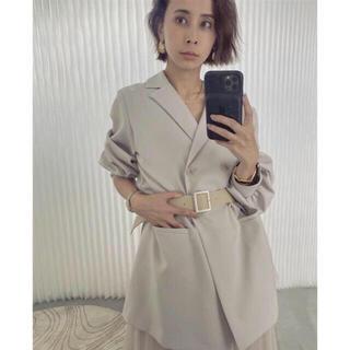アメリヴィンテージ(Ameri VINTAGE)のアメリAMERI VINTAGE TRINITY JKT TULLE DRESS(ロングワンピース/マキシワンピース)