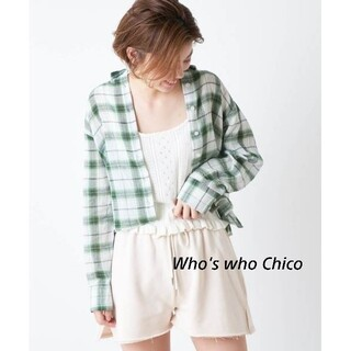 who's who Chico - タグ付き新品! 長袖シャツ 6,490円