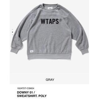 ダブルタップス(W)taps)のM 19AW WTAPS DOWNY 01 / SWEATSHIRT. POLY(スウェット)
