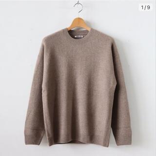 コモリ(COMOLI)のauralee baby cashmere knit size 1(ニット/セーター)