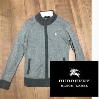 BURBERRY BLACK LABEL - バーバリーブラックレーベル トップス ジップアップ ニット 美品 価格交渉ok