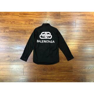 Balenciaga - BALENCIAGA 長袖シャツ ダブルスリーブシャツ