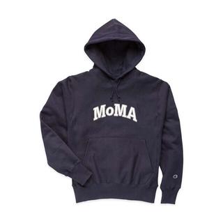 MOMA - Champion フーディー MoMA Edition M ネイビー (M)