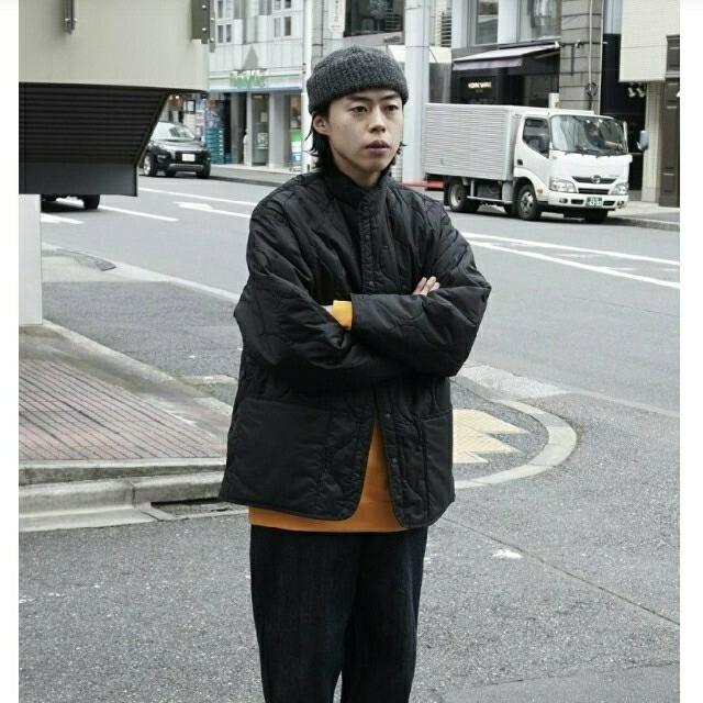 1LDK SELECT(ワンエルディーケーセレクト)のcaptainsunshine キルティングジャケット メンズのジャケット/アウター(ブルゾン)の商品写真