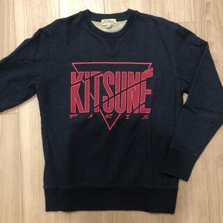 メゾンキツネ(MAISON KITSUNE')のKITSUNE TEE ロゴスウェット(スウェット)