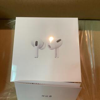 アップル(Apple)のAirPodsPro エアーポッズ プロ 本体 国内正規品 新品未開封 (ヘッドフォン/イヤフォン)