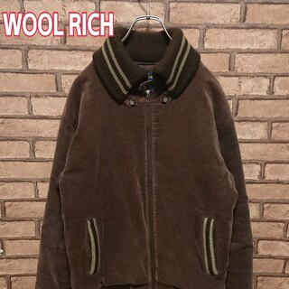 WOOLRICH - WOOLRICH ウールリッチ ジップアップ   アウター