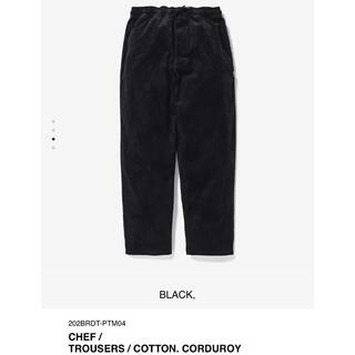 W)taps - BLACK M 20AW WTAPS CHEF / TROUSERS / COT
