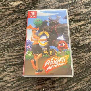 Nintendo Switch - 任天堂リングフィットアドベンチャー ソフトのみ