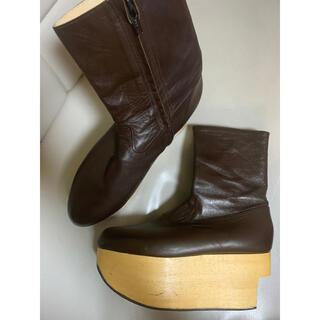 ヴィヴィアンウエストウッド(Vivienne Westwood)のロッキンホース ブーツ ダークブラウン UK5(ブーツ)