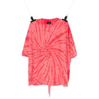 PEACEMINUSONE - PEACEMINUSONE タイダイ Tシャツ #5 RED