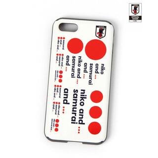 ニコアンド(niko and...)のマルチスマホケース iPhone7.8 サッカー日本代表ver.(iPhoneケース)