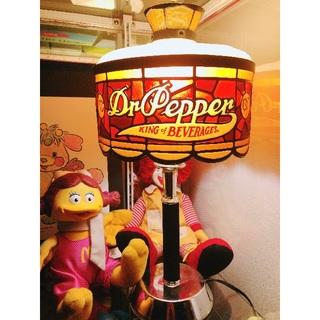 コカコーラ(コカ・コーラ)の【70年代】ドクターペッパーステンドグラス風ランプ !!Dr Pepperマクド(その他)