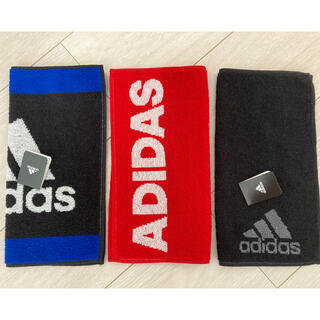 アディダス(adidas)のadidas アディダス ハンドタオル ハンカチ 3枚セット(その他)