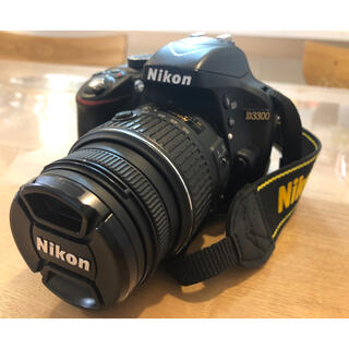 Nikon - Nikon 一眼レフカメラ D3300 18-55 VRII レンズキット
