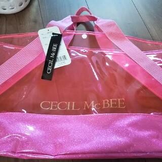 セシルマクビー(CECIL McBEE)の新品CECIL McBEEビニールバック!(トートバッグ)
